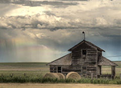 Old home in Montana Photo by Kelly Gorham