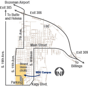 Click to see maps, directions and parking in Bozeman