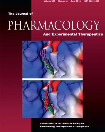 Cover of the journal of pharmacology