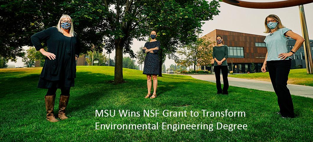 MSU wins NSF grant to transform Environmental Engineering Degree