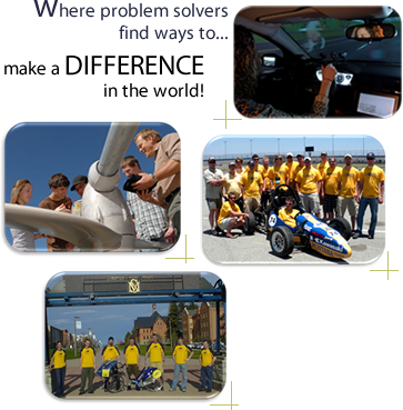 Where problem solvers find ways to ... make a DIFFERENCE in the world!