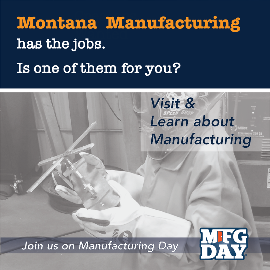 Instagram Montana Manufacturing has the jobs