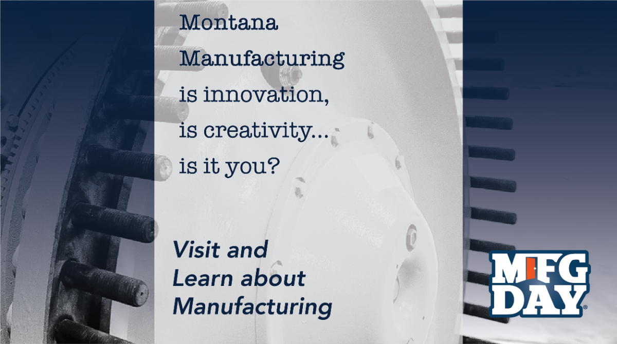Montana Manufacturing is it you Twitter