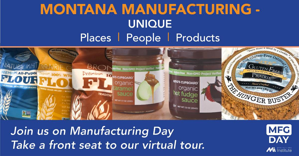 Montana Manufacturing has unique places, people, products. Take a front seat to our virtual tour.