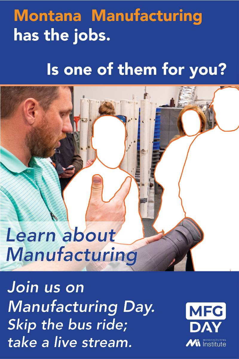 Montana manufacturing has the jobs. Is one of them for you? Learn about manufacturing.