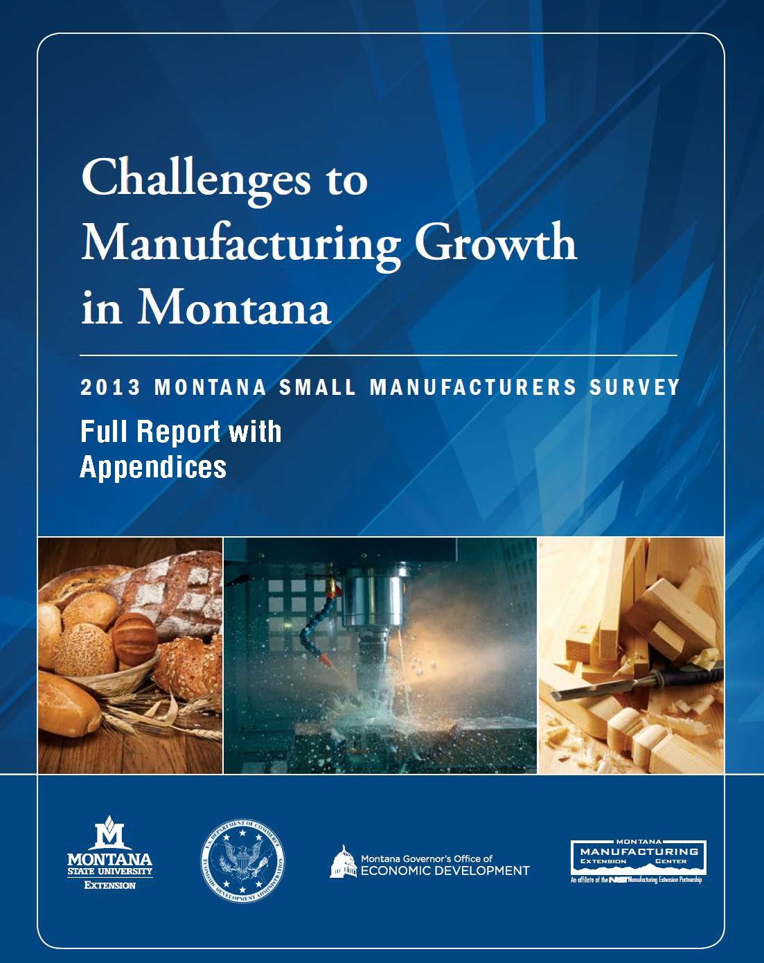 2013 Report Cover Challenges to Mfg Growth