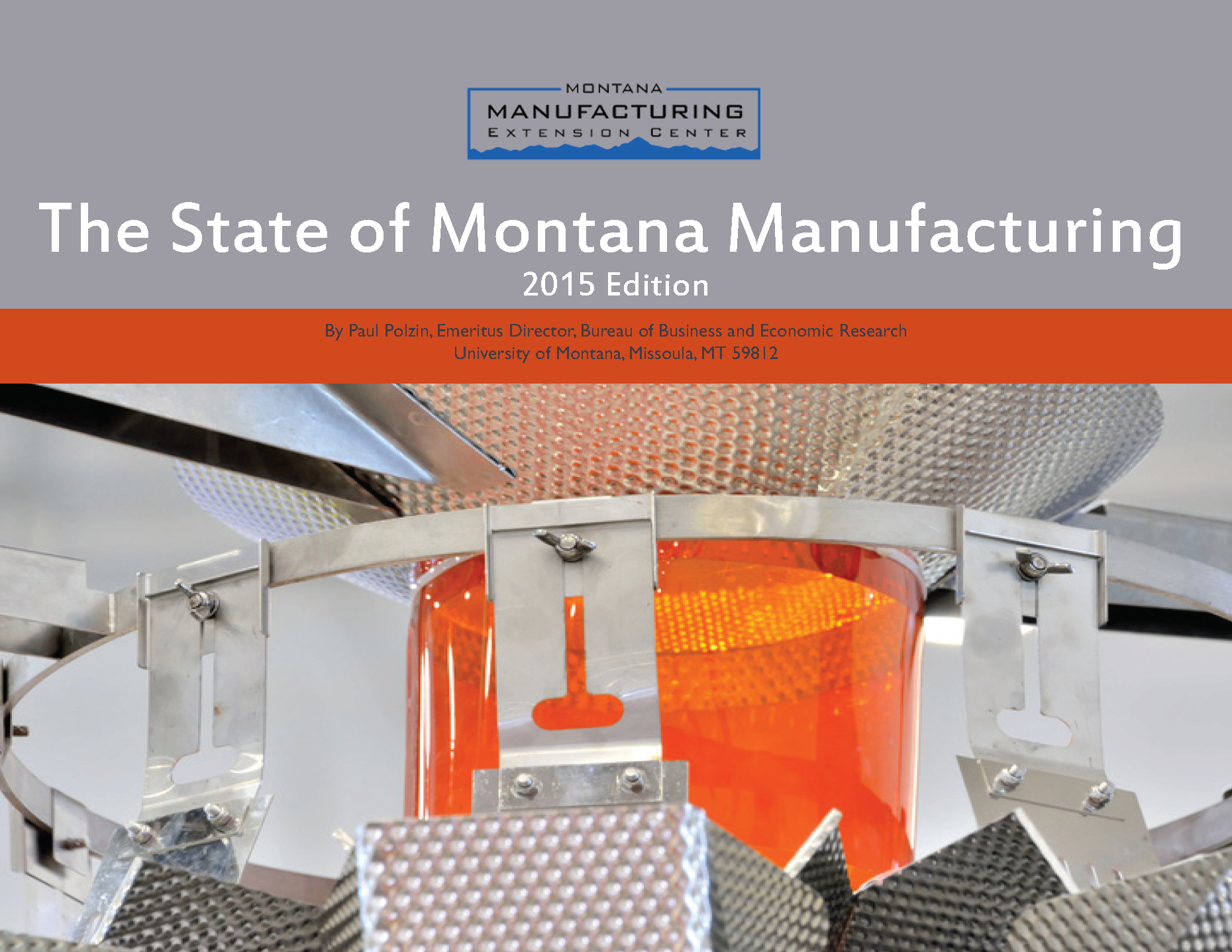 2015 State of Montana Manufacturing Report