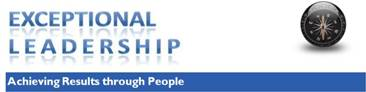 Exceptional Leadership Achieving Results through People
