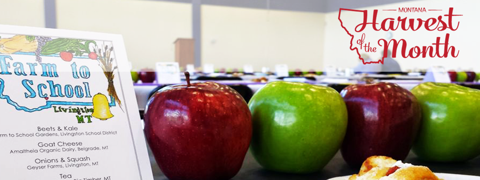 Apples are October's Montana Harvest of the Month!