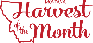 Montana Harvest of the Month logo