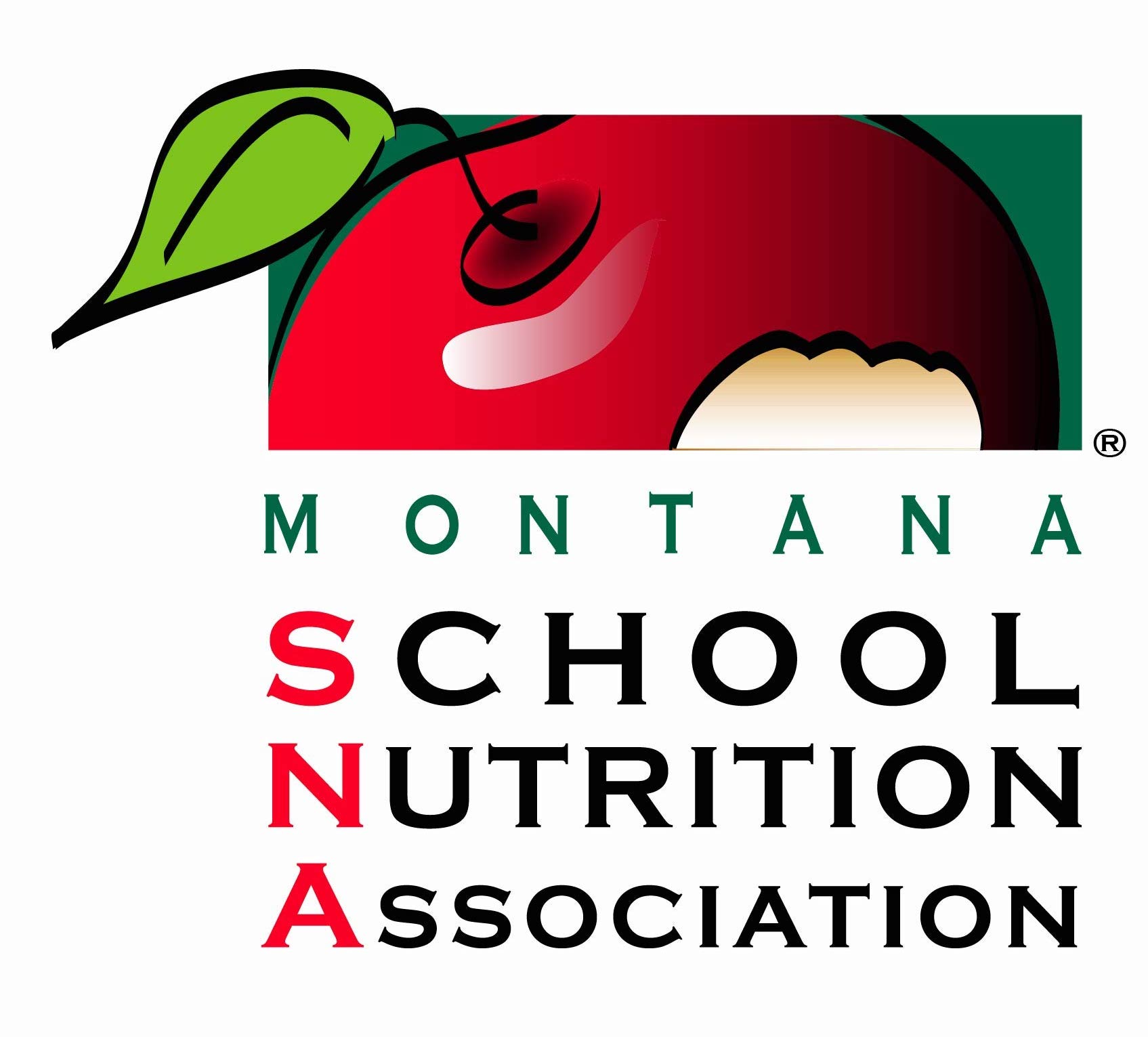 Montana School Nutrition Association logo