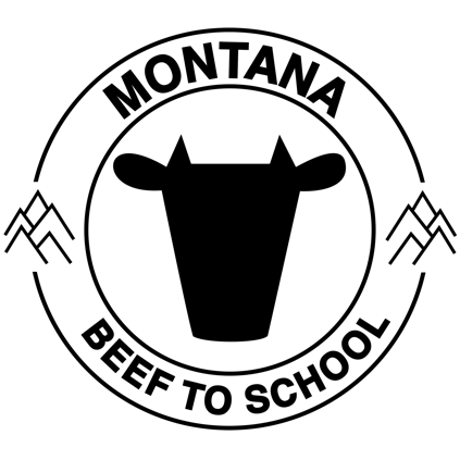 Montana Beef to School Logo
