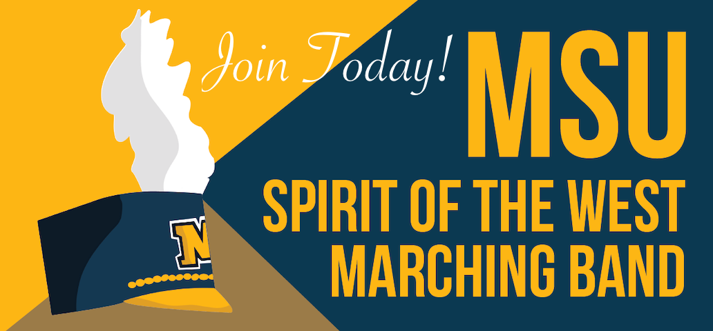 Join the Spirit of the West Marching Band