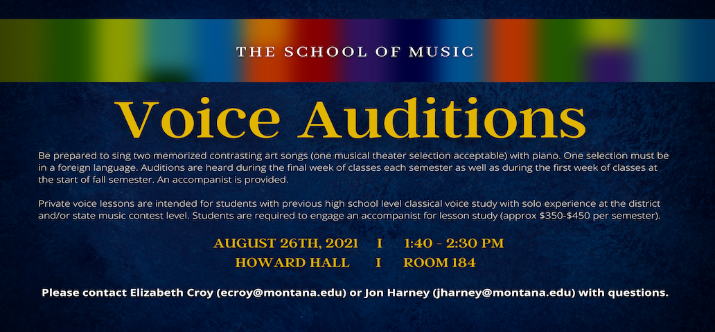 Voice Auditions