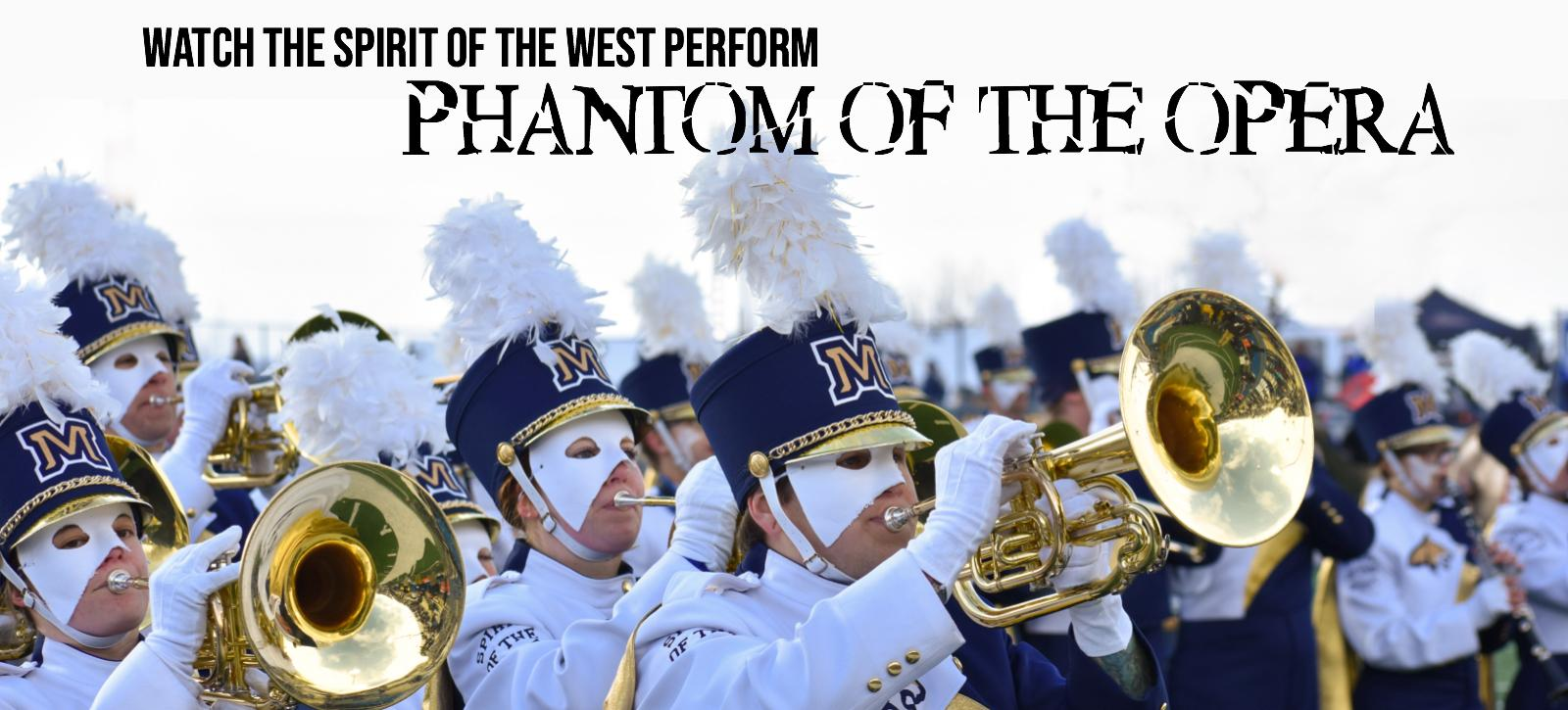 Watch the Spirit of the West perform Phantom of the Opera