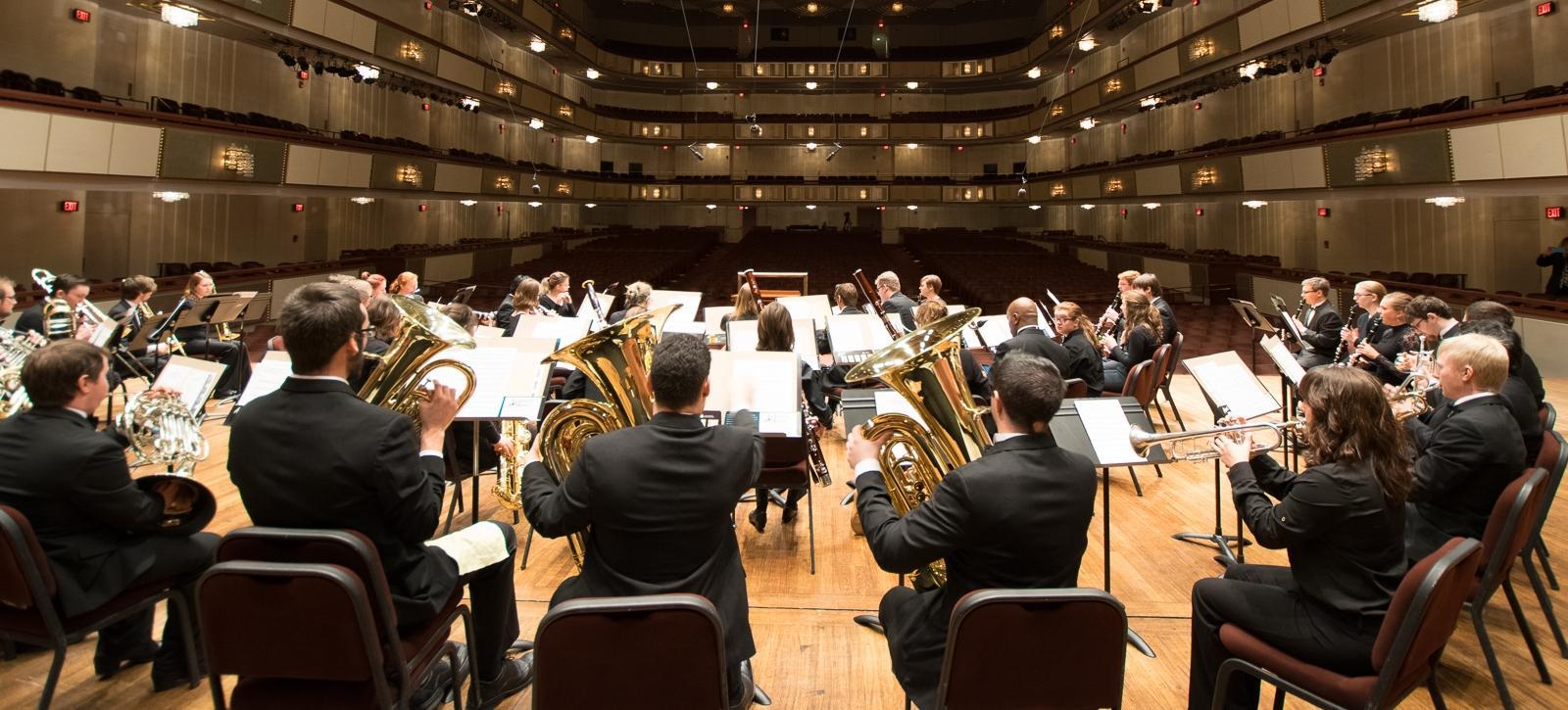 MSU Wind Symphony at the Kennedy Center