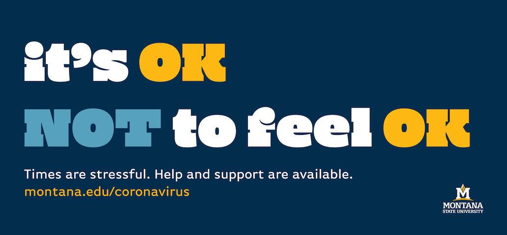 It's OK Not to Feel OK