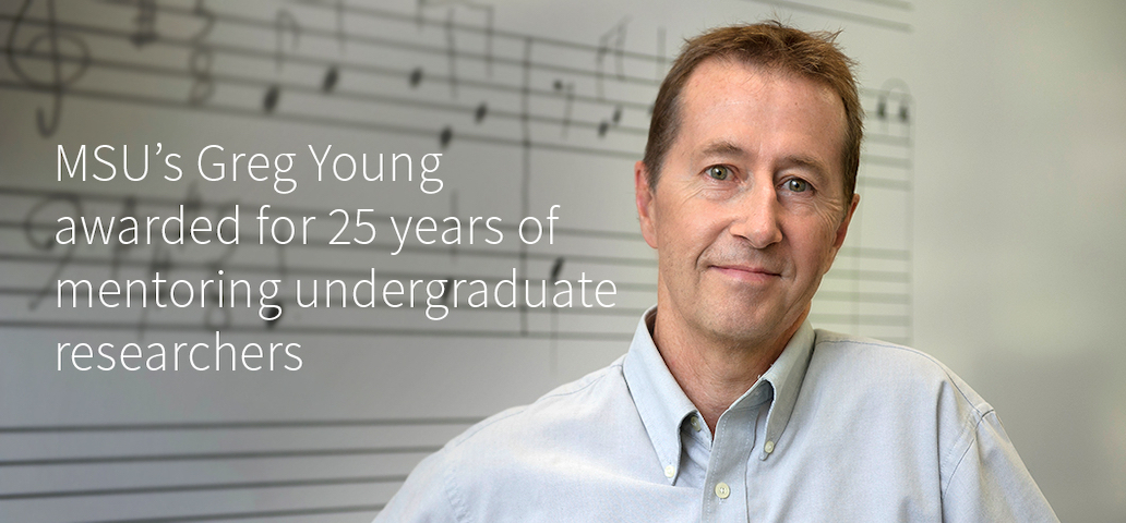 Greg Young NCUR Mentorship Award