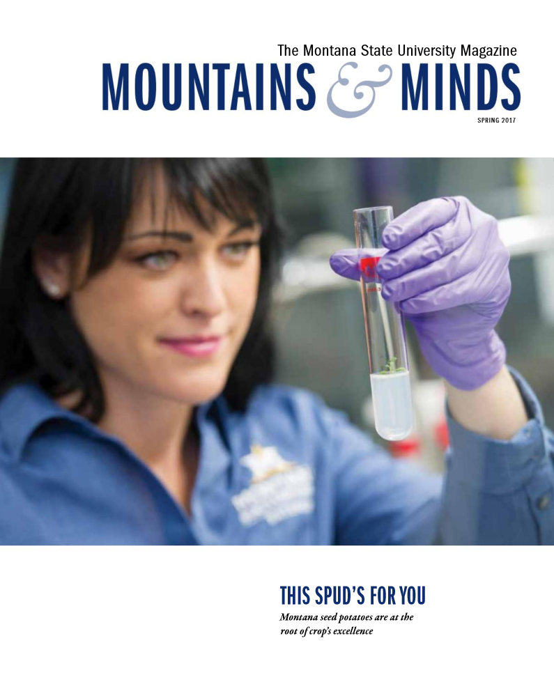 Mountains and Minds Spring 2017 cover