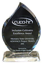 2015 CUPA-HR Award