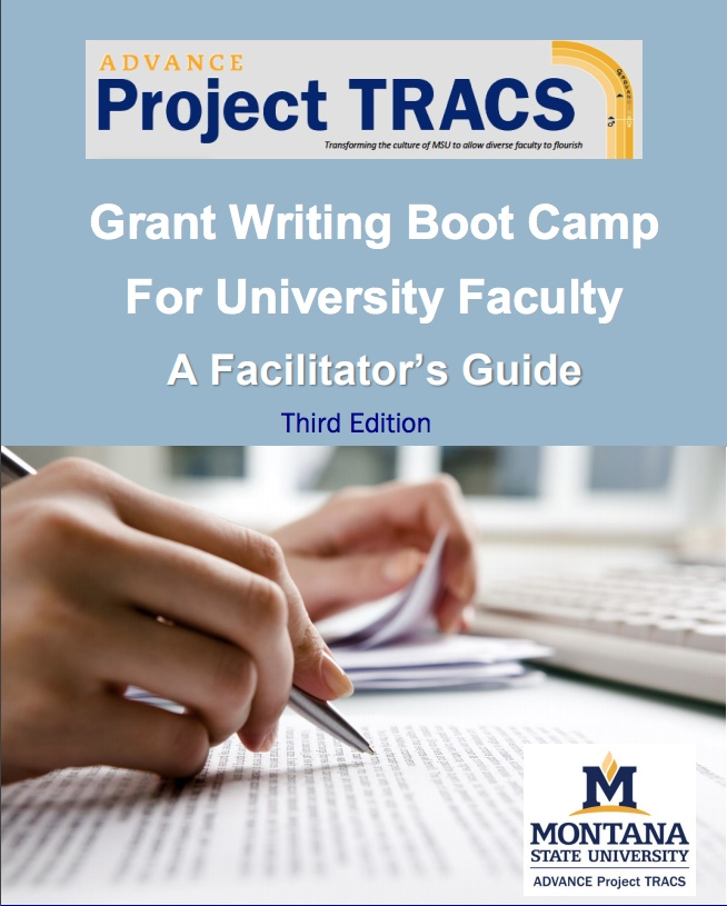 Grant-Writing Bootcamp Facilitator Guide