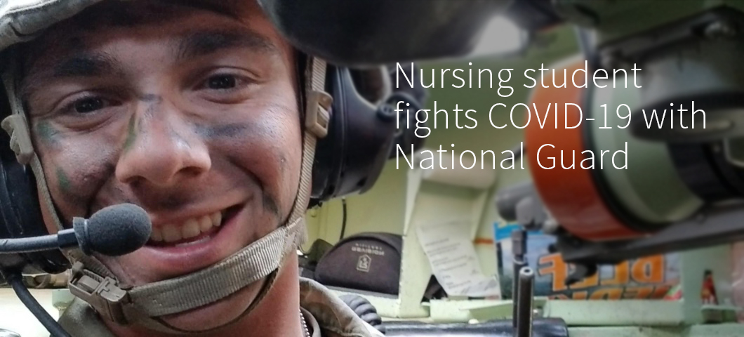 Nursing student fights COVID-19 as member of Montana Army National Guard