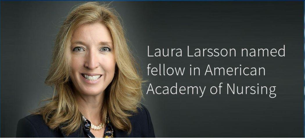 Laura Larsson named fellow in American Academy of Nursing