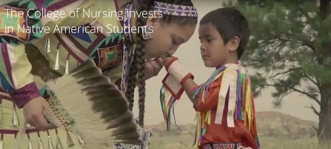 The College of Nursing invests in Native American students