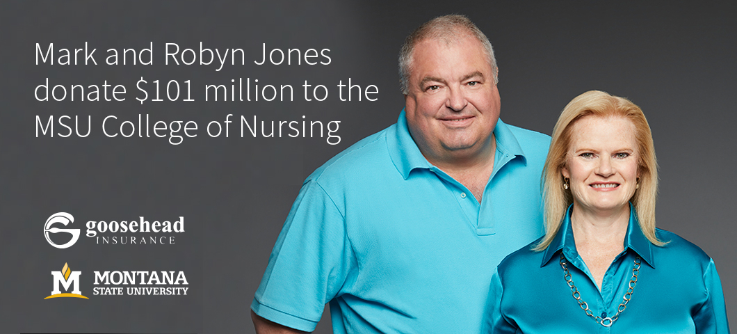 Mark and Robyn Jones donate $101 million to the MSU College of Nursing.