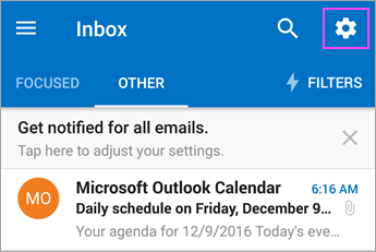 Set up email on Outlook for Android App - Office 365 | Montana State
