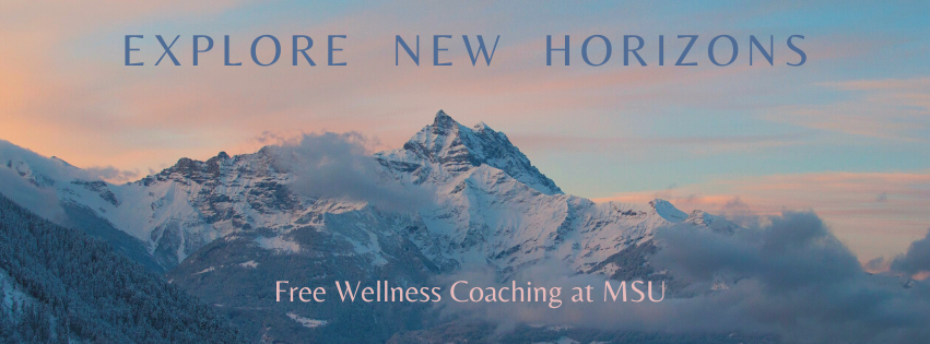 Wellness Coaching at MSU with Mountains photo Explore New Horizons