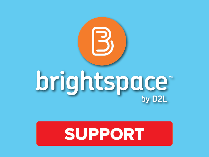 Brightspace by D2L Support
