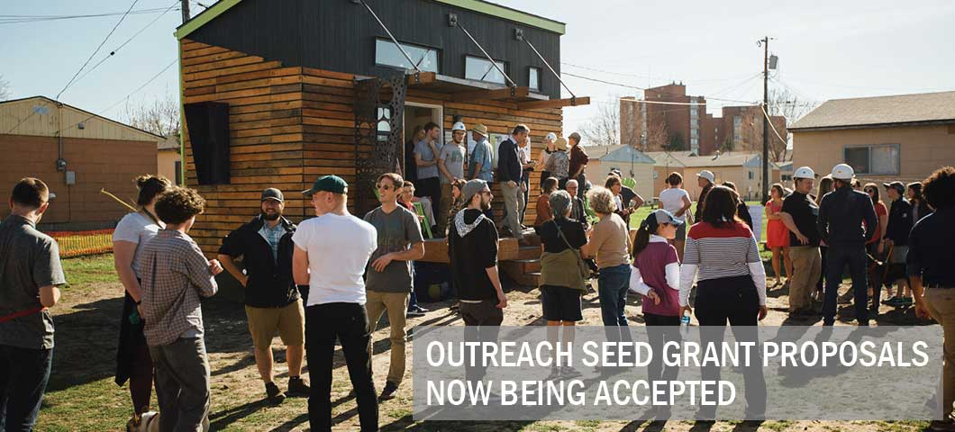 Outreach Seed Grant Proposals Now Being Accepted