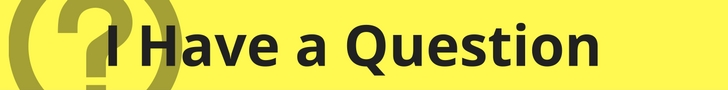 question banner