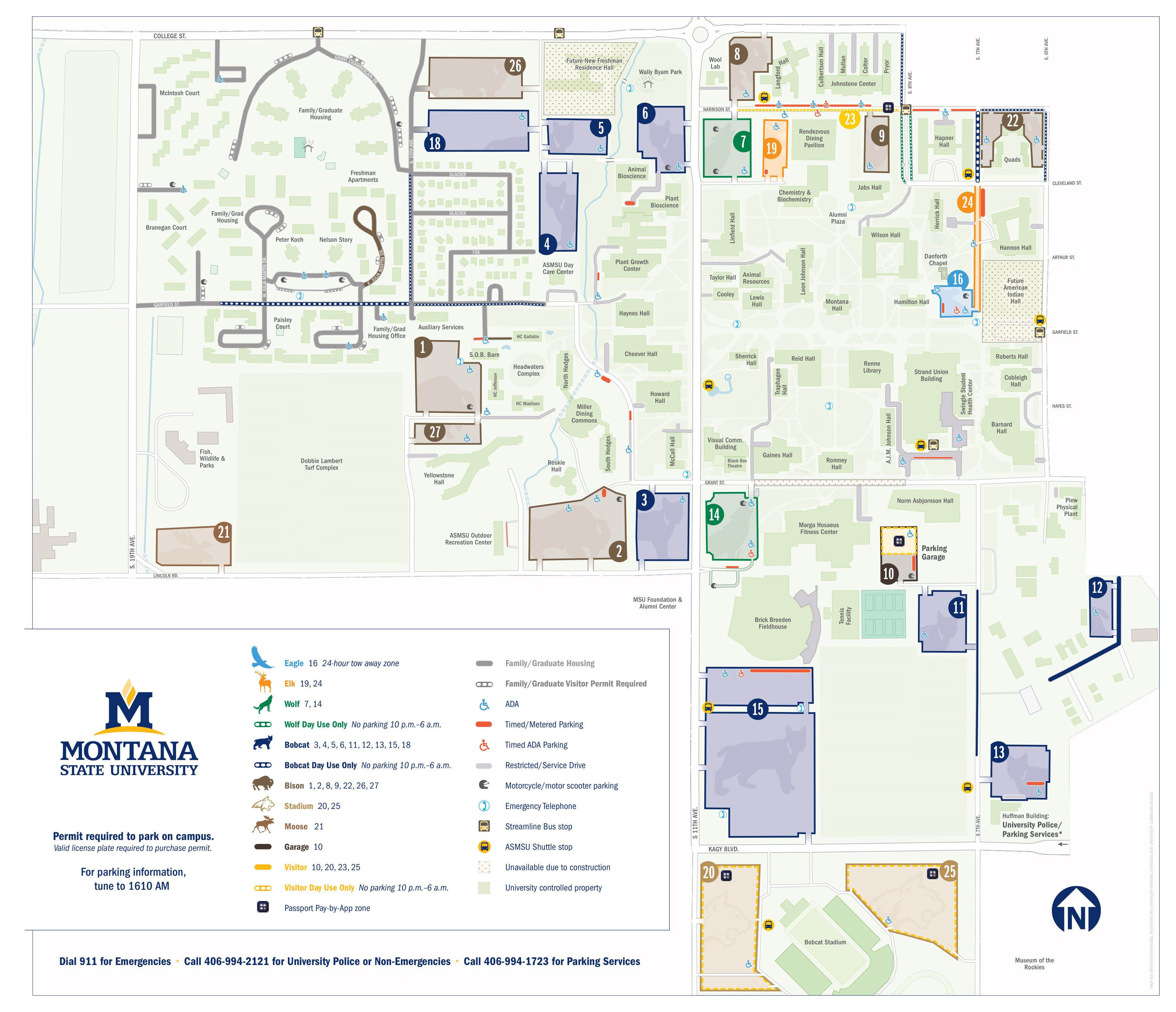 Parking Services | Montana State University