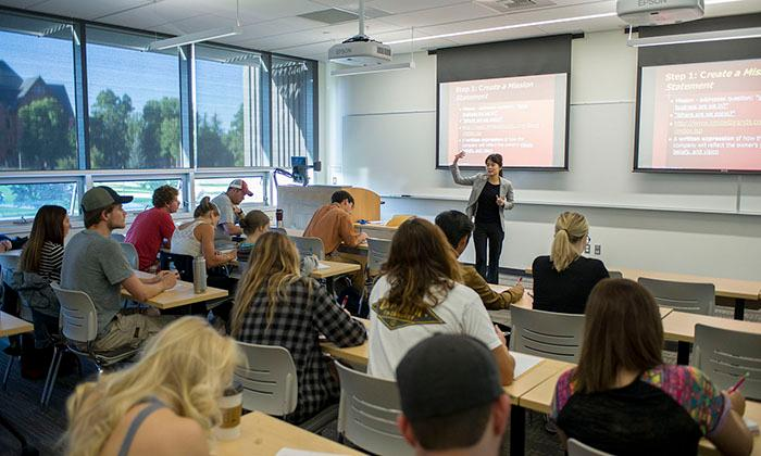Active Learning Classroom, Jabs Hall