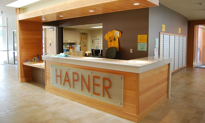 Public Space, Hapner Residence Hall