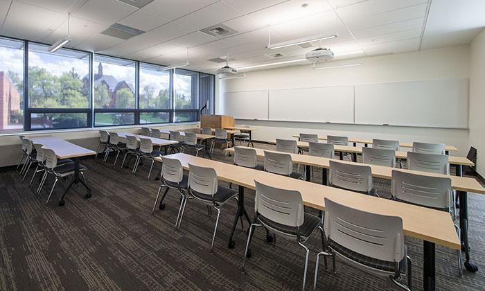 Classroom, Jabs Hall