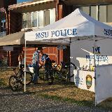 msu police tent