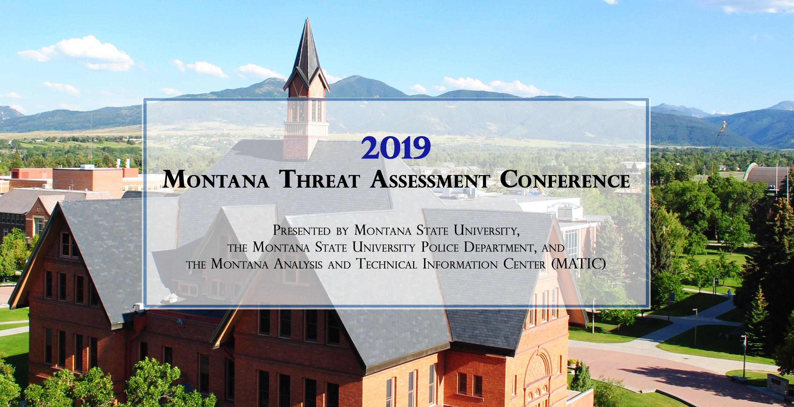 2018 Montana Threat Assessment Conference