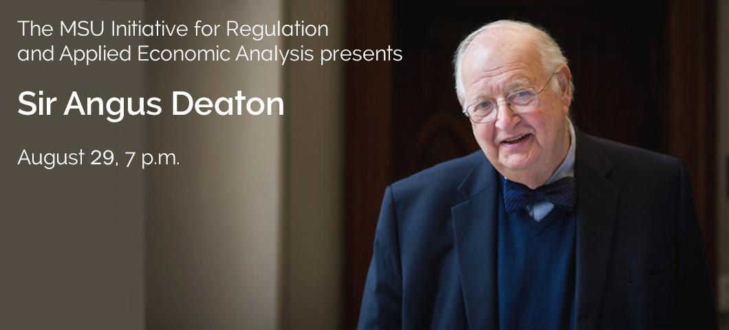 Save the Date: Public Lecture by Nobel Prize winner Sir Angus Deaton