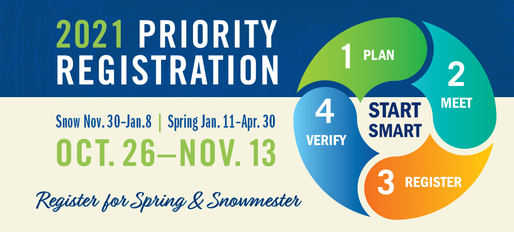 priority registration spring 2021 and snowmester