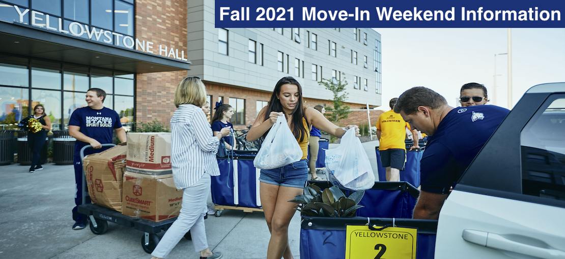 Fall 2021 Move-In Weekend!