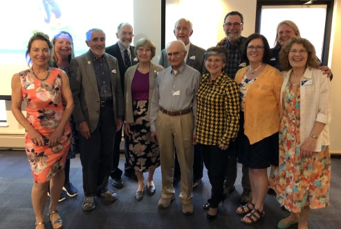 MSU Retiree Advisory Council with President Cruzado at Annual Dinner May 2019