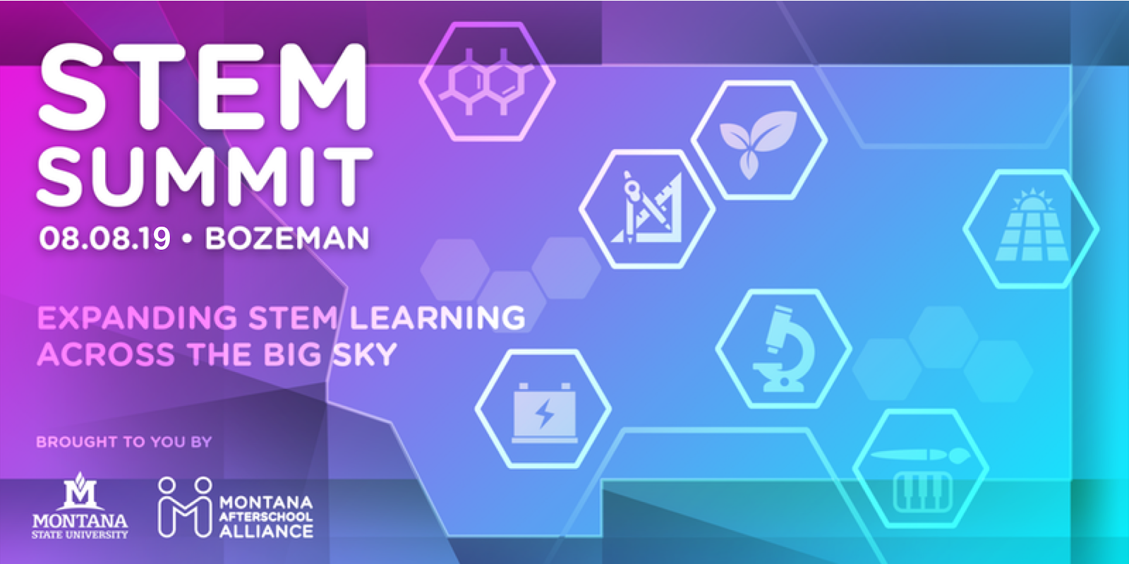 Logo for the STEM Summit 2019