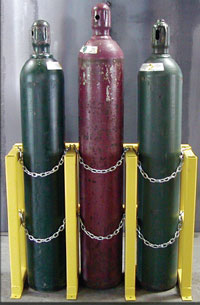 Gas Cylinders: Proper Storage Of Compressed Gas Cylinders