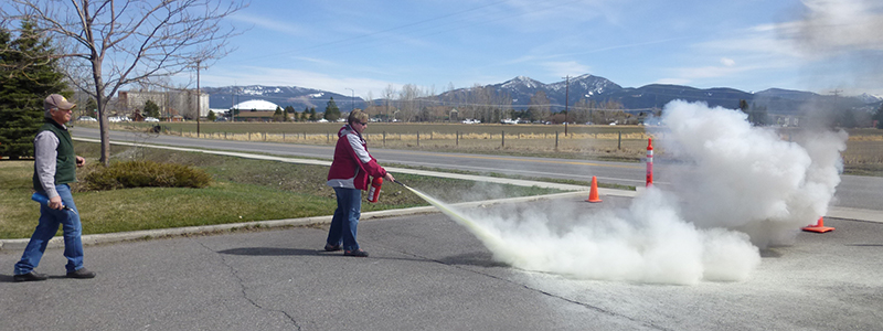 Image of Fire Extinguisher Training