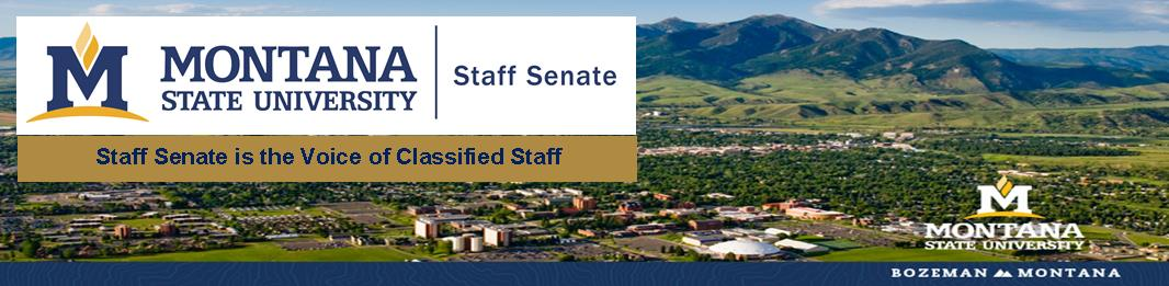 Staff Senate logo & motto