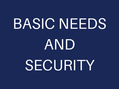 basic needs and security