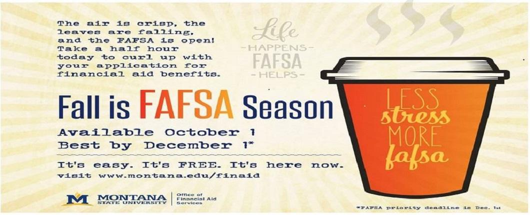 Fall is FAFSA Season!